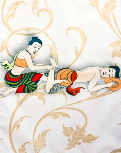 massaging of a Thai